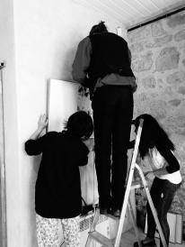 Georges Bruchet, Noriko Fuse et Myriam Lejmi